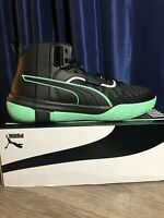 Puma Mens Legacy Dark Mode Basketball Shoes Sneakers Size 11.5