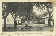 IVORY COAST, BINGERVILLE TO LE HAVRE, YEAR 1903, RUE DE COMMERCE, GRAND-BASSAM