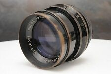 ":Goerz Apochromat Artar 16 1/2"" 420mm F9.5 Large Format Brass Barrel Lens"