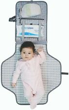 Baby Travel Unisex Foldable Changing Mat With Diaper Pocket NWT