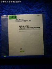 Sony Bedienungsanleitung MHC 881 Mini Hifi Component System (#1118)