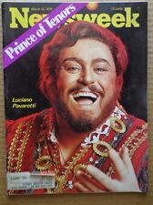 NEWSWEEK magazine M15 1976 OPERA Tenor LUCIANO PAVAROTTI-Republicans-HEROIN