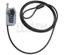 ABUS Combi-Loop Helmet, riding gear, luggage, tools combination adjustable lock