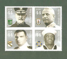 4440-3 Distinguished Sailors Block Of 4 In Scott Order MNH (Free Shipping)