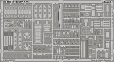 EDUARD 1/35 PE PHOTO-ETCHED DETAIL SET for TRUMPETER BTR-60P APC #01542