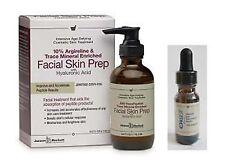Janson Beckett 4oz Peptide Skin Prep with Free 1/2oz OkuSil Eye Serum