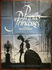 Plakat Prinzenzepter und Prinzessinnen Michel Ocelot 120x160cm