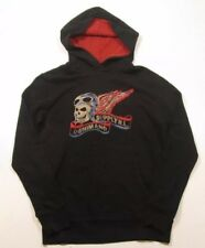 Denim & Supply By Ralph Lauren Biker Skull Harley Hoodie L Felpa Hooded