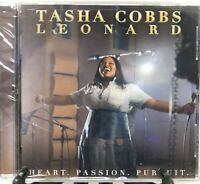 Tasha Cobbs Leonard Heart Passion Pursuit CD Brand New Sealed 2017 Motown Gospel