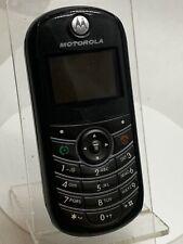 Motorola C139-Negro (Desbloqueado) Teléfono Móvil