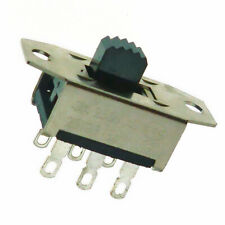 2x  DPDT Slide Switch on-on 2 Circuits 6 pins