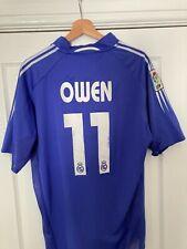 More details for rare owen 11 real madrid 3rd kit - vintage football shirt 2004/2005 (xl)