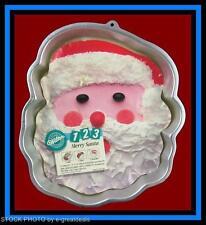 Wilton ***123 MERRY SANTA*** Cake Pan w/INSERT!!  #9421