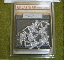 GREAT WAR MINIATURES German Infantry in Feldmutze 28mm G103