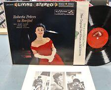 ROBERTA PETERS IN RECITAL LP WITH INSERT - RSC LSC 2379 1S/1S