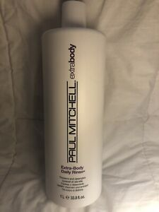Paul Mitchell Extra-Body Daily Rinse Thickens And Detangles 1000ml 33.8 fl oz