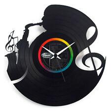 Vinyl Record Clock - Jazz Music