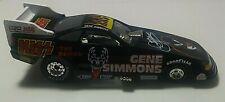 Vintage KISS Gene Simmons 1996 die-cast JOHNNY LIGHTNING KISS FUNNY CAR