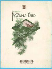 THE MOCKING BIRD - GRAND FANTASIA - F. W. MEACHAM - DE LUXE PIANO SOLO