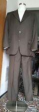 Excellent Brown Tessuto  Ermenegildo Zegna Suit Size 42R 100% Wool