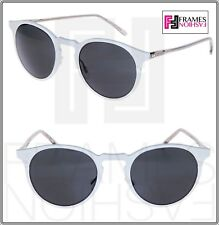 OLIVER PEOPLES ELIAS OV1208S 49mm Matte Grey Mirror Gregory Peck Sunglasses 1208