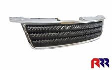 FOR  HOLDEN RODEO RA UTE 10/06-06/12 SMALL ROUND GRILLE BLACK- CHROME