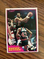 1981-82 Topps #W109 Bob Lanier Milwaukee Bucks  NrMt