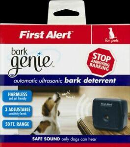 First Alert Bark Genie Automatic Ultrasonic Bark Deterrent