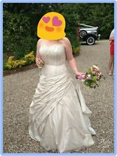 Ian stuart wedding dress - size 14 16