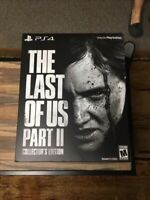 The Last of Us Part II -- Collector's Edition (Sony PlayStation 4, 2020)