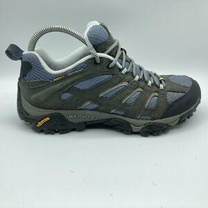 Merrell Moab 2 Women's Hiking Shoes Smoke Size 9.5 Gray/ Blue