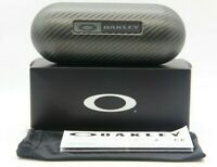 NEW OAKLEY EYEGLASSES SUNGLASSES AUTHENTIC CARBON FIBER HARD CASE POUCH BOX