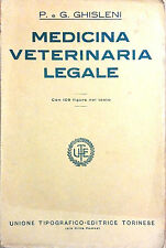 MEDICINA VETERINARIA LEGALE DI P. E G. GHISLENI