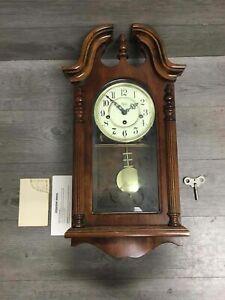 Sligh 0704-1-AN Westminster Chime Wall Clock