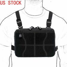 Combate Táctico pecho Plataforma Oculta Bolsa Frontal Bolsa de herramientas Recon Kit Pack Molle