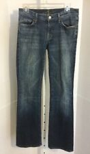 7 SEVEN FOR ALL MANKIND Womens boot cut low rise denim blue JEANS Size 29 x 32