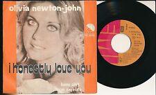 "OLIVIA NEWTON-JOHN 45 TOURS 7"" BELGIUM I HONESTY LOVE YOU"