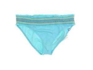 Bleu by Rod Beattie Women's Smocked Waistband Hipster Swim Bottom - Aqua