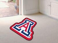 NCAA Arizona Wildcats Mascot 3 foot x 5 foot area rug Fanmats USA QUICK SHIP