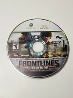 Frontlines: Fuel of War (Microsoft Xbox 360, 2008) Disc Only FREE SHIPPING