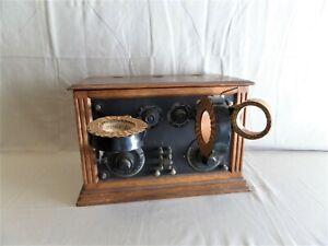 ANCIEN POSTE RADIO ( Galène LAMPES TSF)