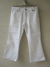 Damenhose weiß 3/4 lang in Gr. 38  -top