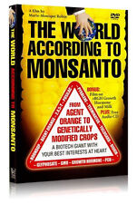 The World According To Monsanto Plus Bonus Film on rBGH Growth Hormone and Milk