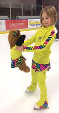 SD ORIGINAL USA Ice figure  skating  dress POLARTEC top, PANTS Child S