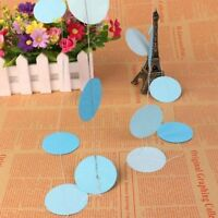 Paper Garland Strings Circle Wedding Party Shower Hanging Decoration Home Decor