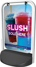 SLUSH PAVEMENT SIGN ADVERTISING STREET DISPLAY BOARD