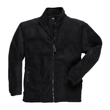 SMALL, MEDIUM TO 7X Portwest F400 Mens Work Wear Argyll Heavy Fleece Jacket COAT