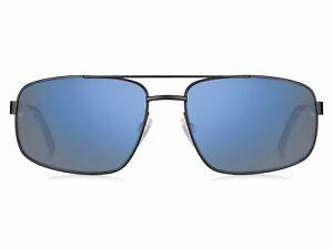 TOMMY HILFIGER-TH 1651/S 0003/2Y Matte Black Blue Mirror