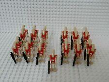 25x Sicherheitsdroide (B1 Battle Droid) mit Blastern & Grundplatten - kompatibel