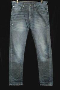 """Levi Strauss & Co. 522 Dark Wash Stretch Jeans W34 L34"""""""